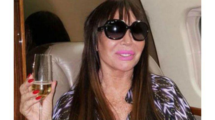 Interpol demoró por varios minutos a Moria Casán en Uruguay