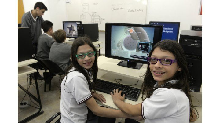 En el Instituto Belgrano el videojuego es un recurso más de las clases. Afirman que no es sólo cosas de chicos