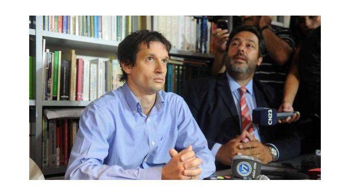 Lagomarsino está imputado por entregarle el arma a Nisman.