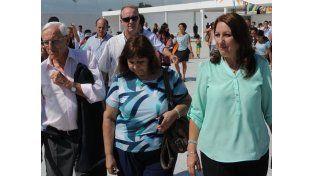 La mandataria de Rosario fue consultada sobre las acusaciones que hizo ayer Berni contra el ex gobernador de Santa Fe.