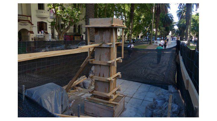 Además repararán el mobiliario urbano.