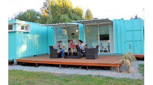 Una vivienda en funes construida con contenedores - Containers casas precios ...