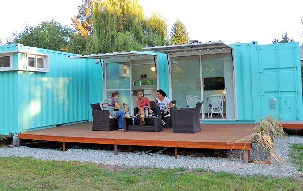 Una vivienda en funes construida con contenedores - Casas hechas con contenedores precios ...