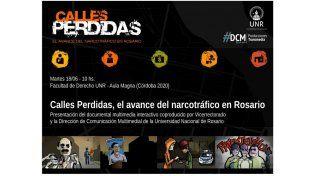 El registro interactivo que recorre la trama del narcotráfico en Rosario