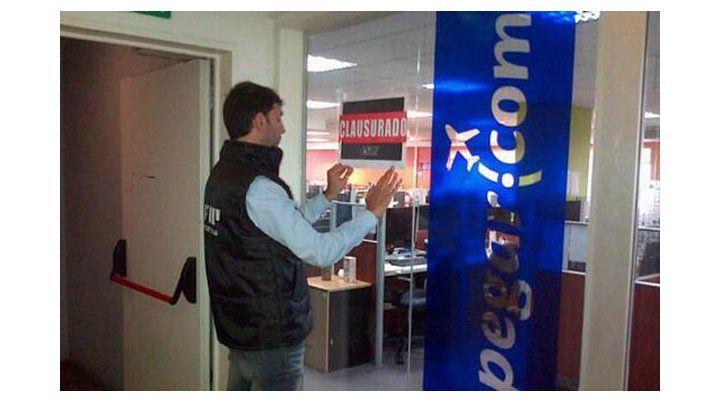 La afip clausur las oficinas del sitio por for Oficinas bankia cercanas