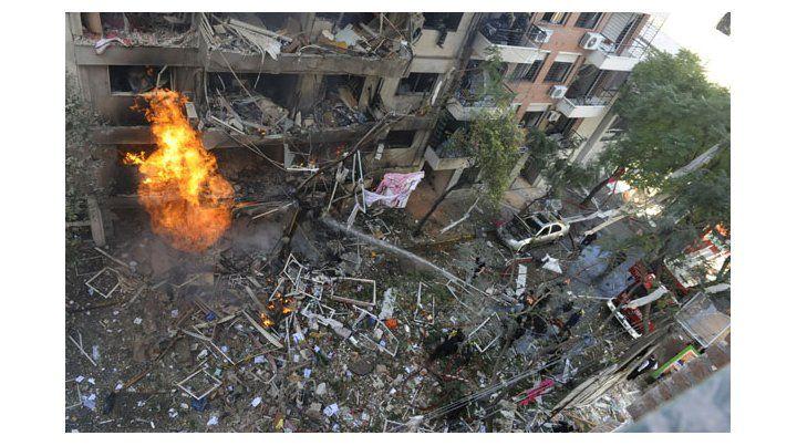 Las llamas provocadas por un escape fueron apagadas después de tres horas. (Foto: N. Juncos)