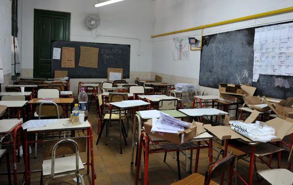 Las aulas estarán vacías el viernes 15 de este mes en todo el territorio provincial.