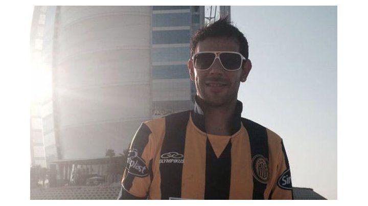 El chaqueño Herrera, un canalla suelto en Emiratos Árabes