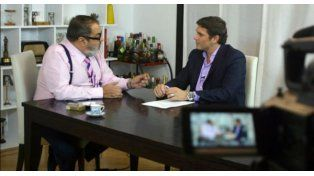 Matías Alé estrenó programa con una entrevista a Jorge Lanata