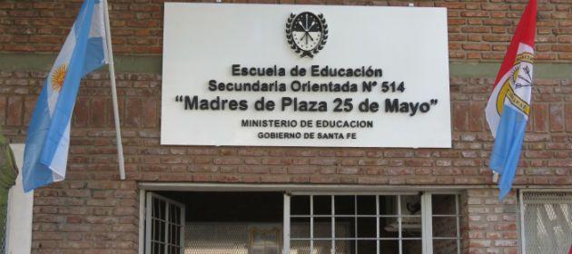 Una escuela de barrio Triángulo pasará a llamarse desde el lunes Madres de Plaza 25 de Mayo