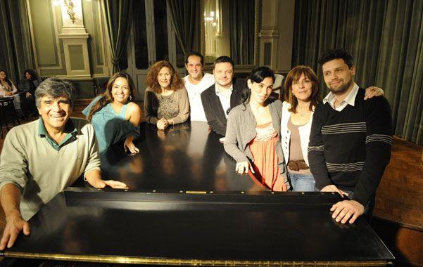 Equipo. El grupo de artistas y músicos que tendrá a su cargo la obra de Bizet.