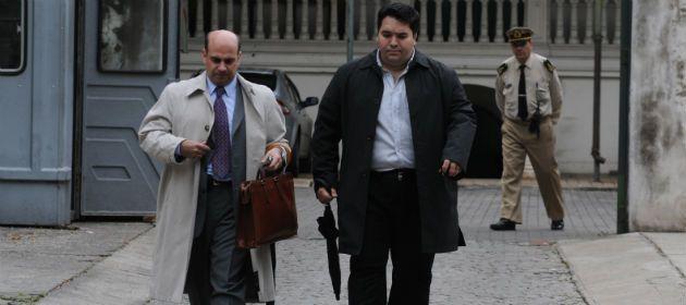 El juez Vera Barros (a la izq.) y su secretario. El lunes le tomarán indagatoria a Ascaini. (Foto de archivo: S. Toriggino).