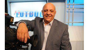El Pelado Ramírez conducía con éxito Fútbol y algo más en el canal Somos Rosario. (Foto: S. Toriggino)