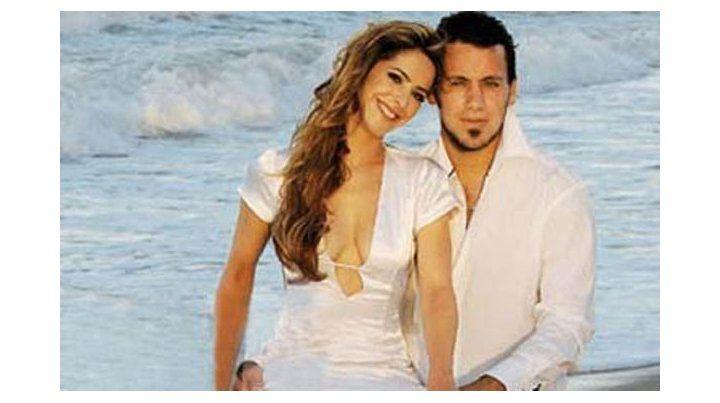 Tiempos felices entre el futbolista y la modelo cuando estaban recién casados.