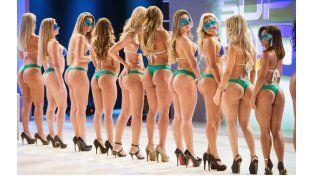 La celulitis no será un problema para las concursantes de Miss Bum Bum 2012.