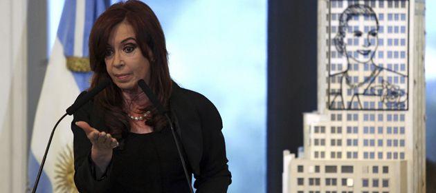 La presidenta argentina habló en un acto en el Salón de las Mujeres de Casa de Gobierno.