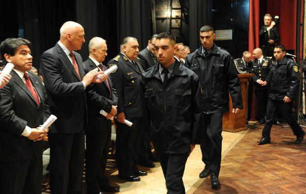 Los egresados serán incorporados en los próximos días a la policía para desempeñarse en distintas áreas. (Foto: N. Juncos)