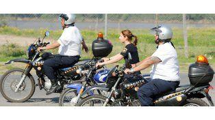 Una policía fue sorprendida en falta durante los controles de ayer