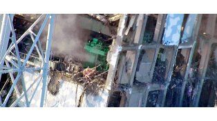 El reactor 4 de la planta de Fukushima