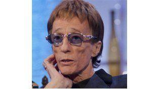 Robin Gibb brilló en la década del 70 junto a sus hermanos Maurice y Barry.