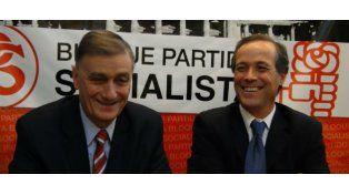 Hermes Binner sucede a Rubén Giustiniani en la conducción nacional del Partido Socialista.