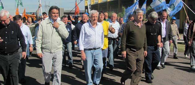 Antonio Caló reiteró ayer su intención de presidir la CGT.