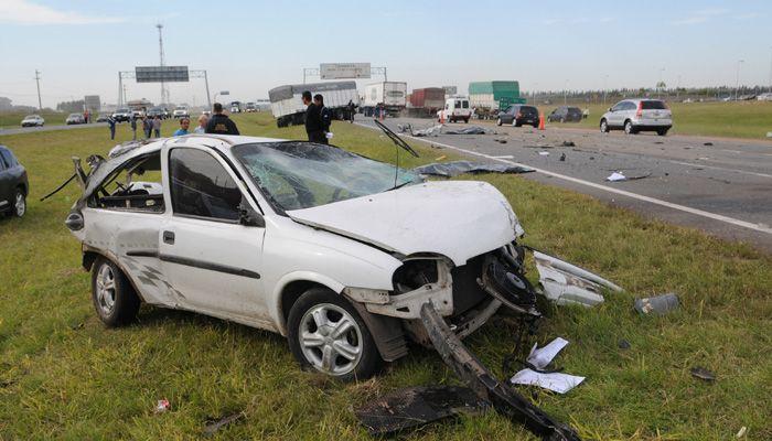 Dos mujeres murieron por un choque en la autopista a Buenos Aires cerca de Alvear