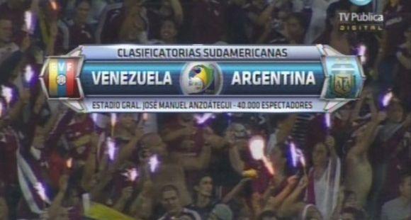 Venezuela hizo historia a costa de una desorientada y cansada Argentina