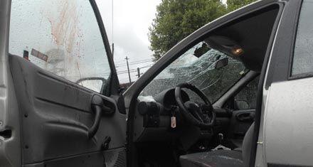 Catorce años de prisión a un joven por matar a un conductor con un adoquín