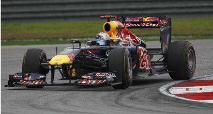 Fórmula 1: el campeón Vettel largará al frente en el Gran Premio de Malasia