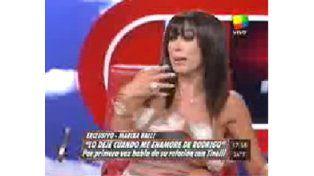 Publican las fotos de la nueva novia de Tinelli mientras Marixa Balli revela que fue su amante