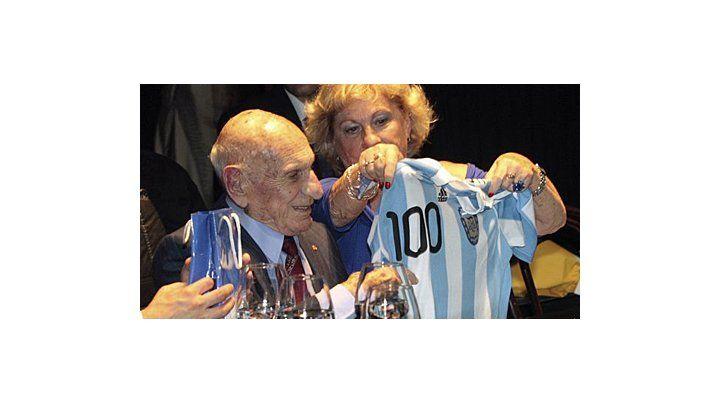 A los 100 años murió Pancho Varallo, el último sobreviviente del Mundial 1930