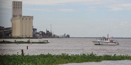El río Paraná llegó a los 5 metros y hay estado de alerta en Rosario