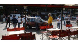 Infernal balacera entre policías y ladrones en San Martín y Uriburu