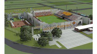 Así será el estadio mundialista de hockey que se construirá en Rosario