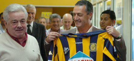 Usandizaga presentó a Alfaro como el técnico del Central campeón