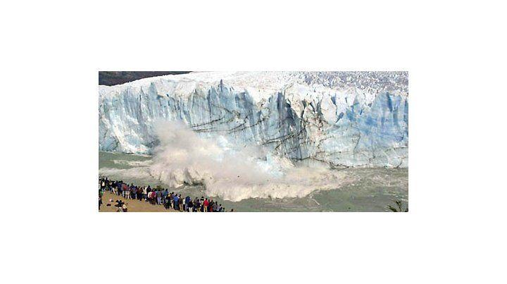 El glaciar Perito Moreno perdió 14 metros de espesor sólo en el verano