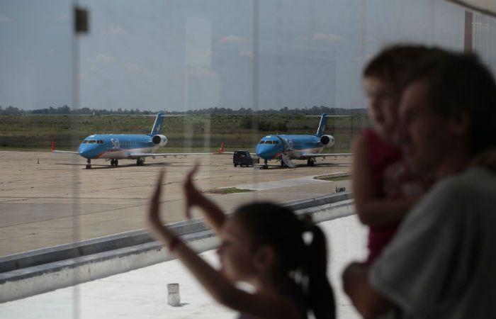Los aviones de Sol dejaron de volar desde y hacia Rosario el 15 de enero pasado. Ahora sus dueños negocian la venta de la empresa.