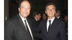 """""""Era el hombre más importante de todos"""", elogió Macri a Sanz, quien decidió dejar la política."""