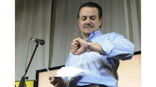 Sin tijera. Galassi dijo que hubo corte de boleta pero que no fue suficiente. (Alfredo Celoria / La Capital)