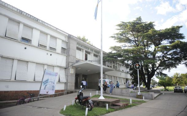 El paciente fue trasladado al hospital Eva Perón.