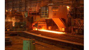Menos acero. La producción siderúrgica cayó 1,8% en noviembre.