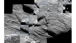 Para los científicos la superficie del cometa 67/P Churyumov-Gerasimenko es muy diferente a lo que pensaban hasta ahora.