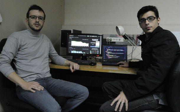 Innovadores. Los emprendedores rosarinos dijeron que en bitcharts.org se puede seguir la cotización del Bitcoin.