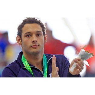 Repitió. Fernando Carlomagno se quedó ayer con otras dos medallas, ambas doradas.