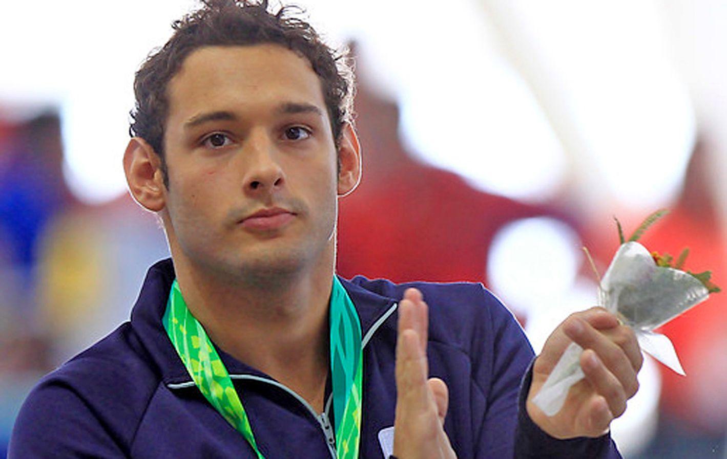 Repitió. Fernando Carlomagno se quedó ayer con otras dos medallas