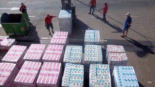 El reparto de leche se realizará mañana. El Sindicato de Camioneros denunció que la situación en la industria láctea es muy preocupante. (Foto Google)