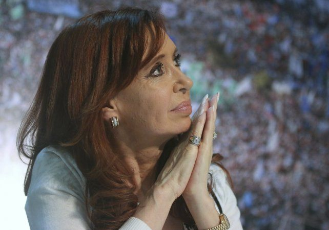 La expresidenta Cristian Fernández de Kirchner.