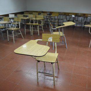 Las aulas de las facultades estarán vacías por el paro de la UNR.