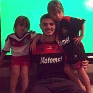 mauro icardi: me gustaria volver un dia y jugar con la camiseta de newells